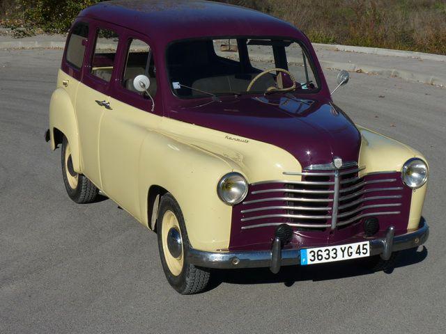 Renault Colorale Prairie 1952 14cv