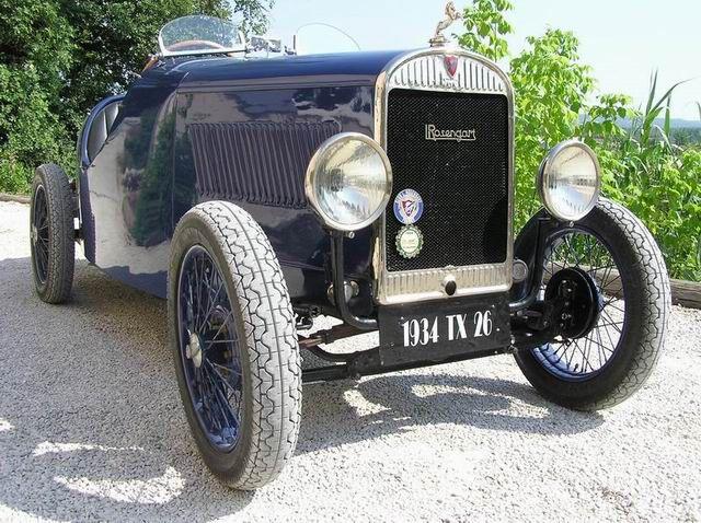 LR4 sport Rosengart 1934