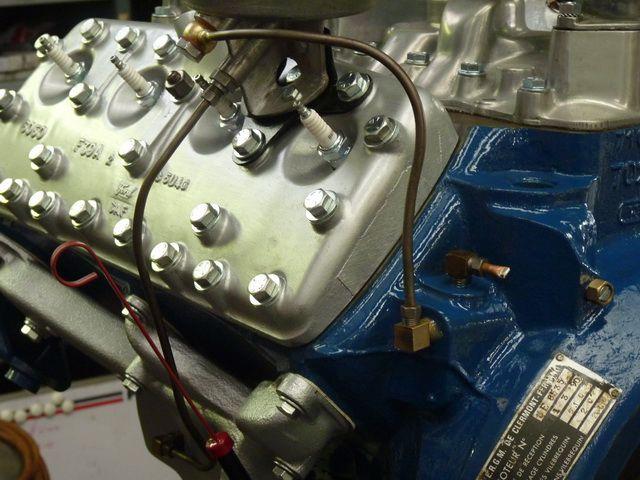 Moteur Ford Vendome V8 Mistral 39l