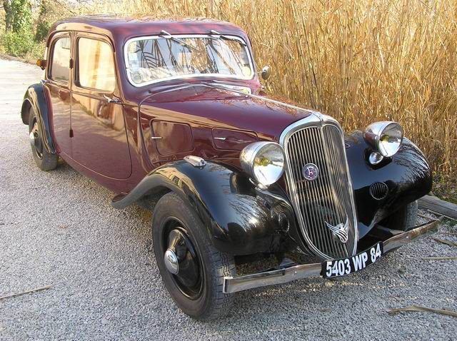 Citroën Traction 11 AL 1936