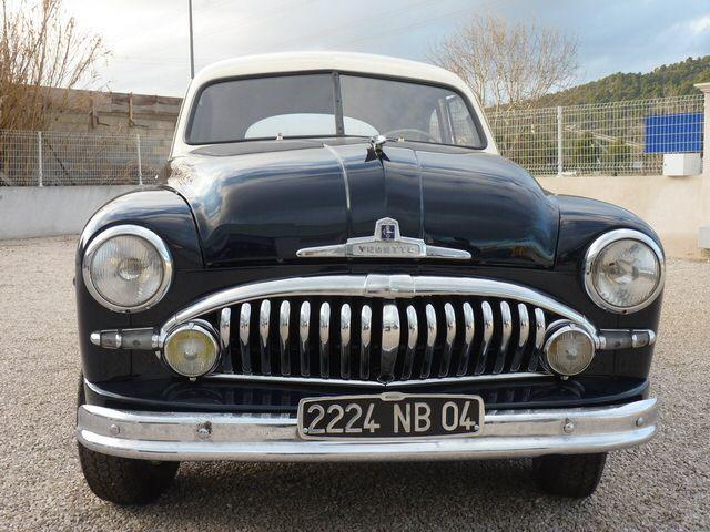 Ford Vedette coupé 1950 restauré par l'atelier Techni Tacot