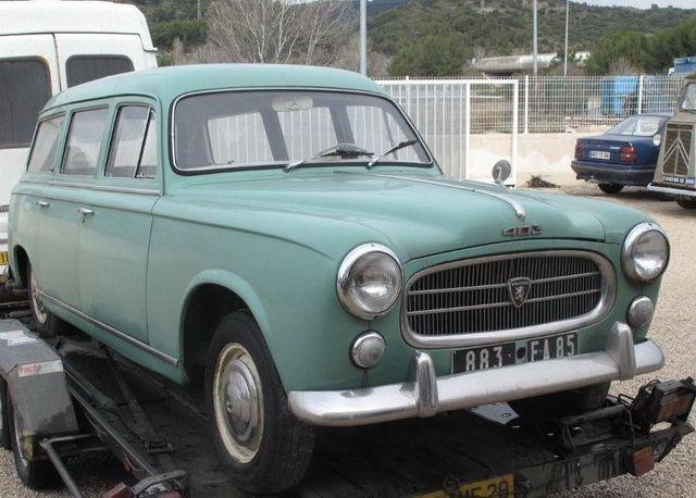 Peugeot Commerciale 403 1960