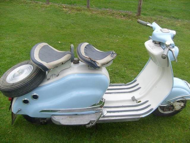 Scooter Lambretta LD 1953