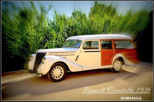 Renault Vivastella 1936 restauré par Techni-Tacot